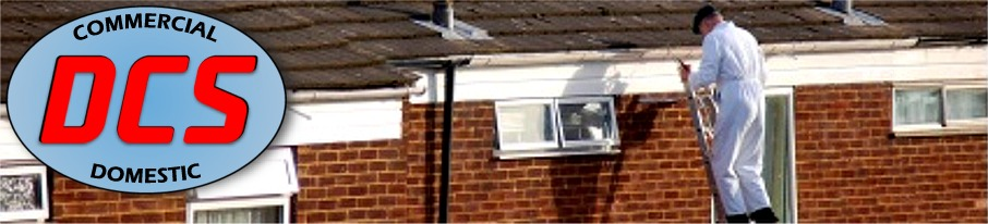 Gutter cleaning by Donegal Cleaning Services Ireland